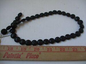 RARE Black Onyx   Horizonte Switzerland  Focal Jewelry Beads