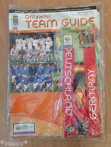 FIFA-World-Cup-2006-Germany-Offizieller-Team-Guide-NEU-in-Folie-OVP