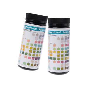 100x-URS-10T-Urinalysis-Reagent-Strips-10-Parameters-Urine-Test-Strip-Sterile-CE