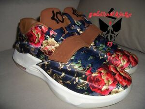 low priced 3957c cb966 Image is loading NIKE-KD-VII-7-EXT-QS-FLORAL-premium-