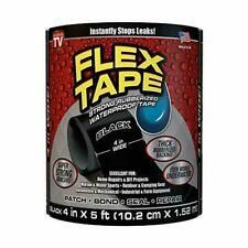 Flex Tape Tfsblkr0405 Rubberized Waterproof Tape Black