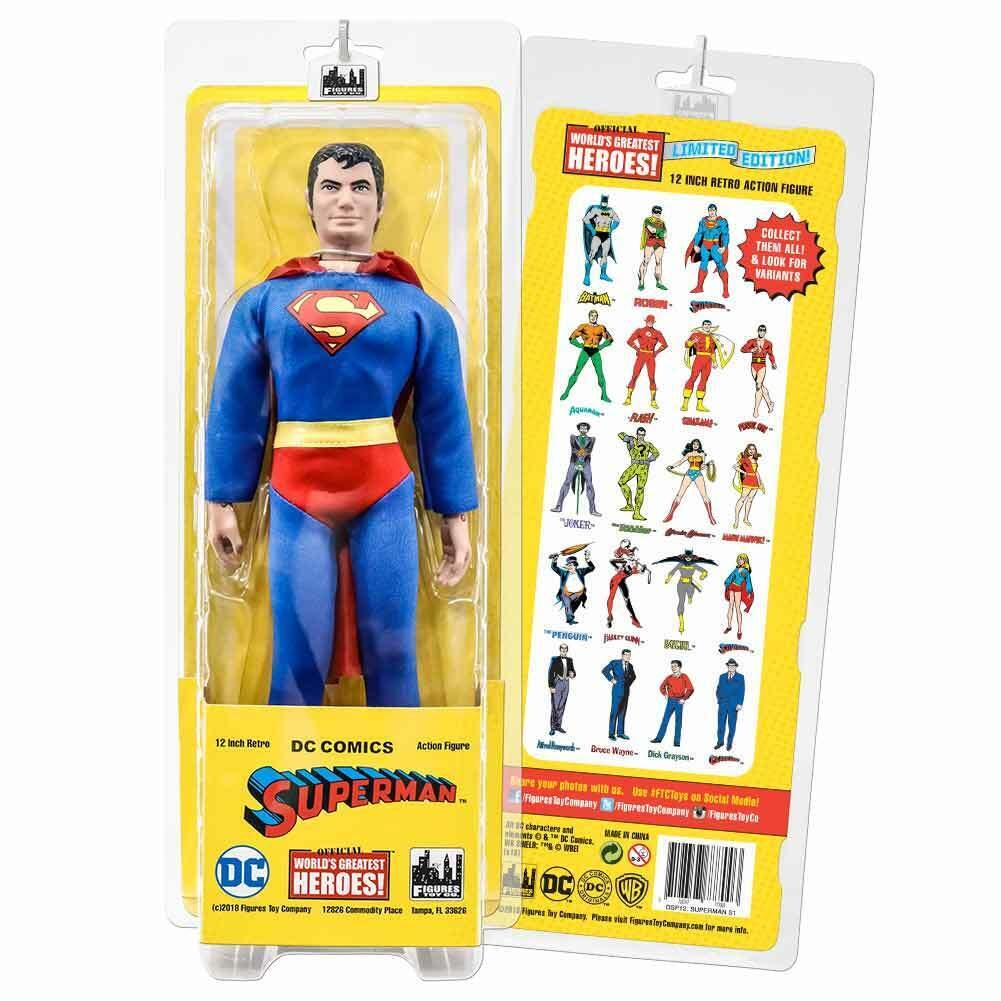 12 Inch Retro DC Comics Action Figures Series  Superman