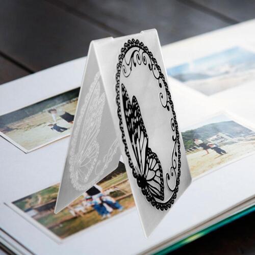 1X Scrapbook Design mirror DIY Paper Dies scrapbook embossed craft hand bell