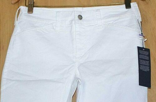 NYDJ CHRISTY WHITE Bermuda Twill Shorts Size CHOICE 00P 0P 2P 4P 6P 8P 10P 18P