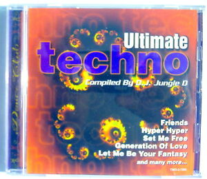 1996-039-S-COMPACT-DISC-ULTIMATE-TECHNO-COMPILED-BY-D-J-JUNGLE-D