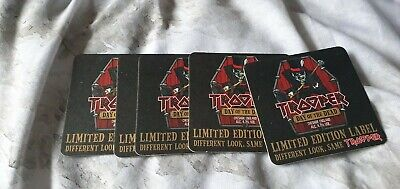 Rare New Iron Maiden Trooper Beer Mat Trooper Day of The Dead Rock Band
