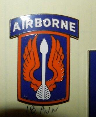 Kampf Dienstzeit Id.badge 18 Luftfahrt Brigade Mit Luftgestützte Tab Für Wear