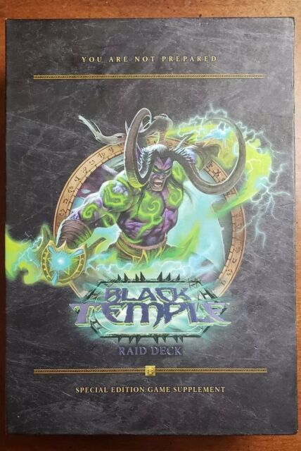 World Of Warcraft Ccg Black Temple Raid Deck Good Toys And Games For