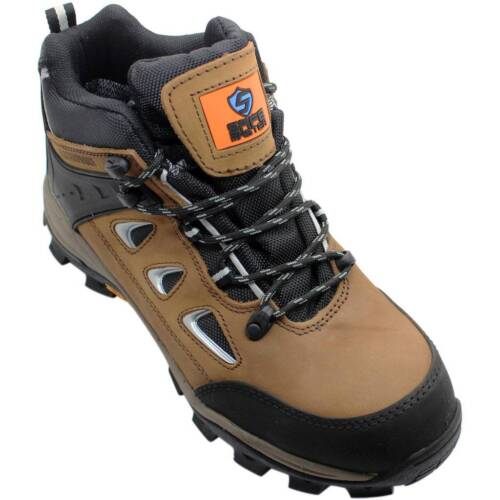 Safe Master Water Resistant Safety Footwear Steel Toe Cap Boots ShoesS3 SRC