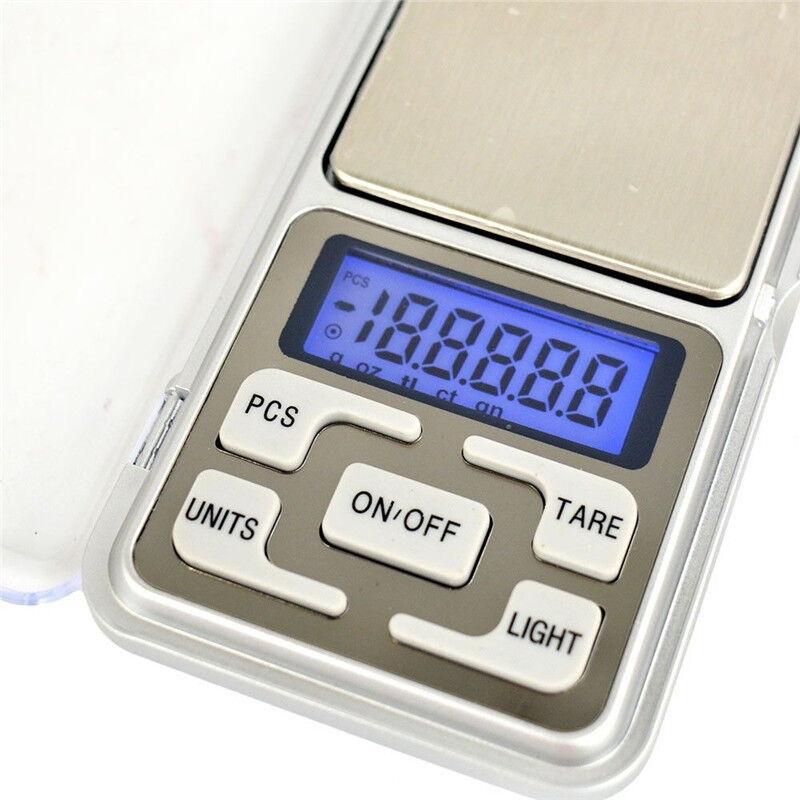 Pocket Digital Gram Scale Jewelry Weight Electronic Balance Scale 500g x 0.01g 7
