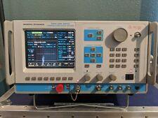 General Dynamicsmotorola R2660d Communications Analyzer With Hard Case