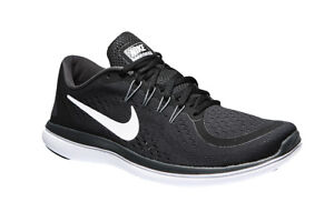 4fa5244c8efd2 Nike Men s Flex 2017 RN Running Shoes Black White Anthracite  Grey ...