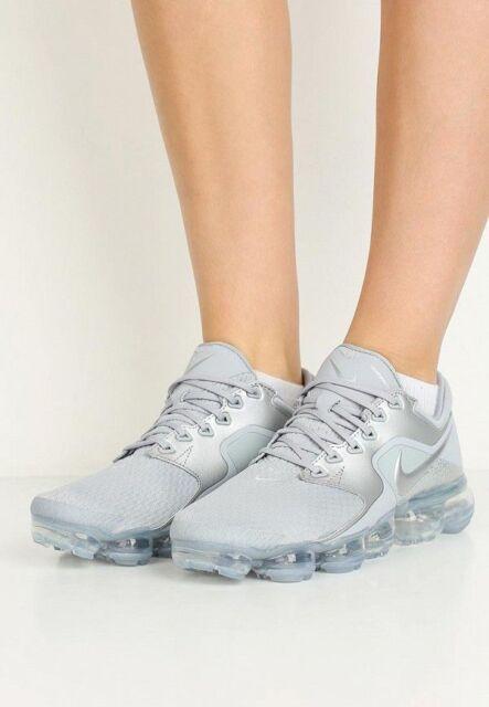 5826c9332c1 Nike Air Vapormax Wolf Grey Metallic Silver Ah9045-006 WMN Sz 7.5 ...