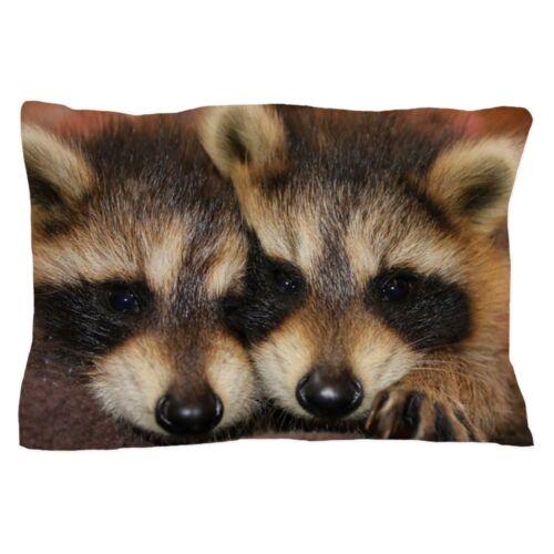 "20/""x30/"" 1419094395 CafePress Raccoon Kit Standard Size Pillow Case"