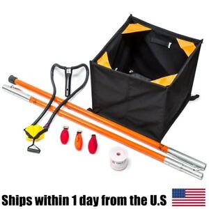 Fred Marvin 4ft Big Shot Pole Throw Line Kit All Gear AGPTL18200 Weaver Cube