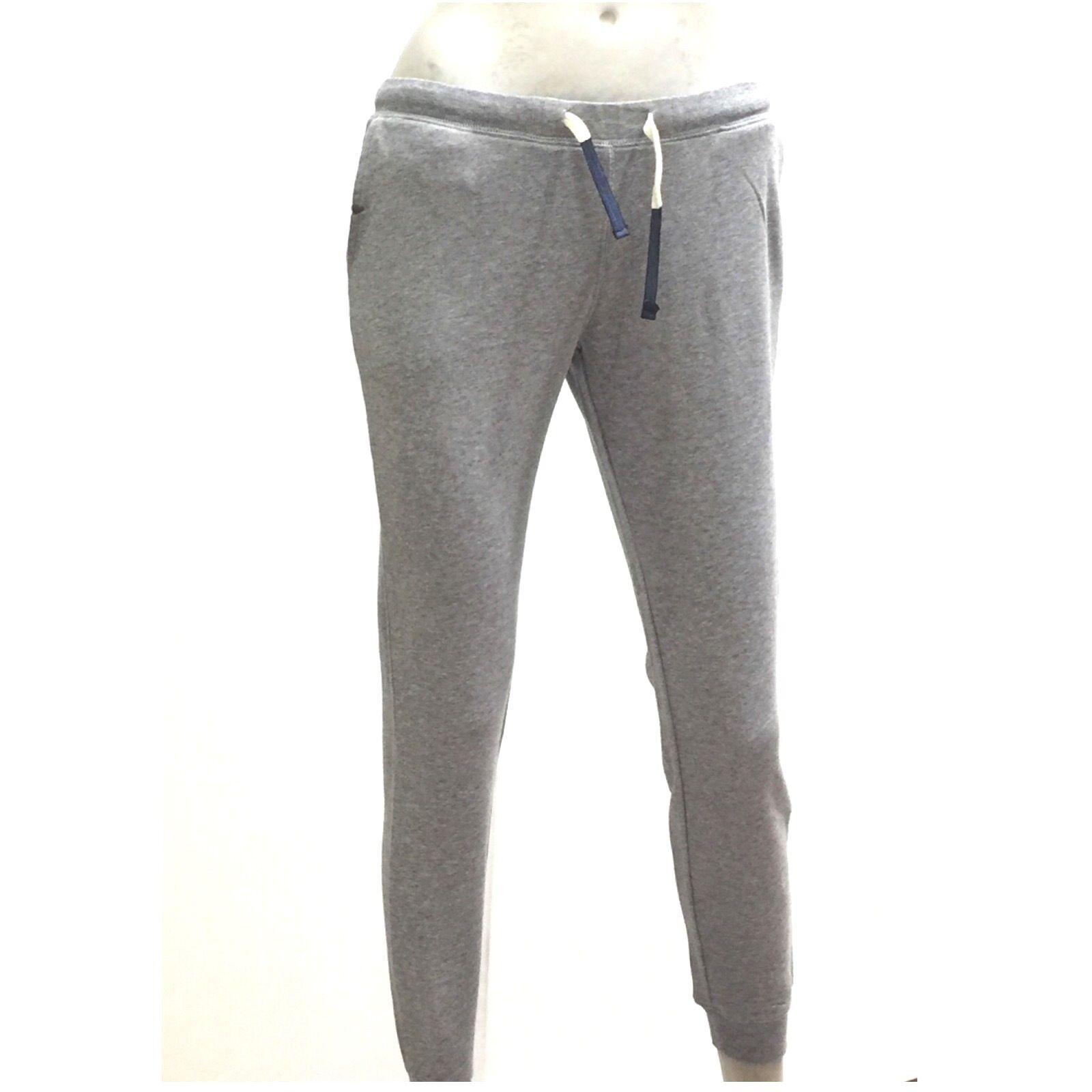 Sun68 Pantalone Lungo per Sport in Felpa femmes gris Long Pant Sport Cott.17251
