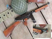 Replica M1928 Military Version Thompson Submachine Gun Non-firing Prop Gun