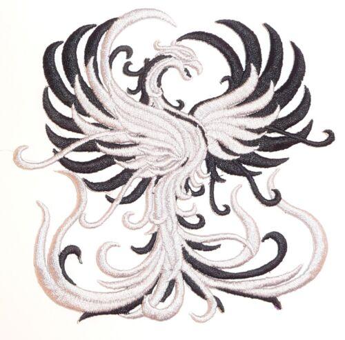 Bordadas Rising phoenix motivo//Patch//insignia//applique-lots of Colour