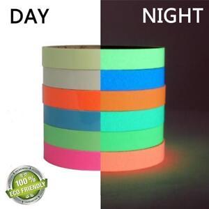 Glow-In-The-Dark-Luminous-Fluorescent-Night-Self-adhesive-Safety-Sticker-Tape