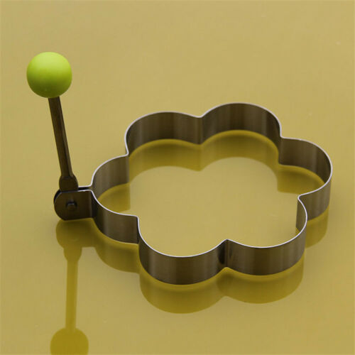 Stainless Steel Pancake Mould Mold Ring Cooking Fried Egg Shaper Kitchen Tool @@