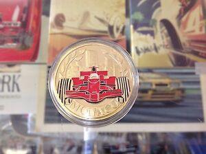 MONACO GRAND PRIX SOUVENIR COLLECTOR COIN FROM 2017