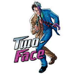 Batman Tattoos Two Face Made In Usa Temporary Tattoo Ebay