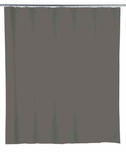 Wenko Duschvorhang UNI grau BH 180x200 cm grau