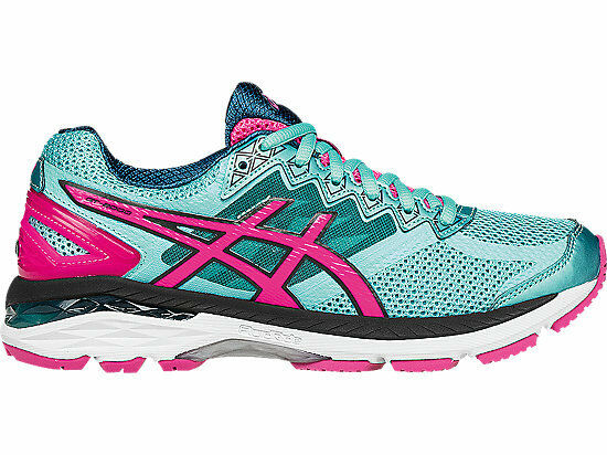 Asics Women's GT-2000 4 Running shoes Turquoise Pink T656N.4034 Sz 6 - 10