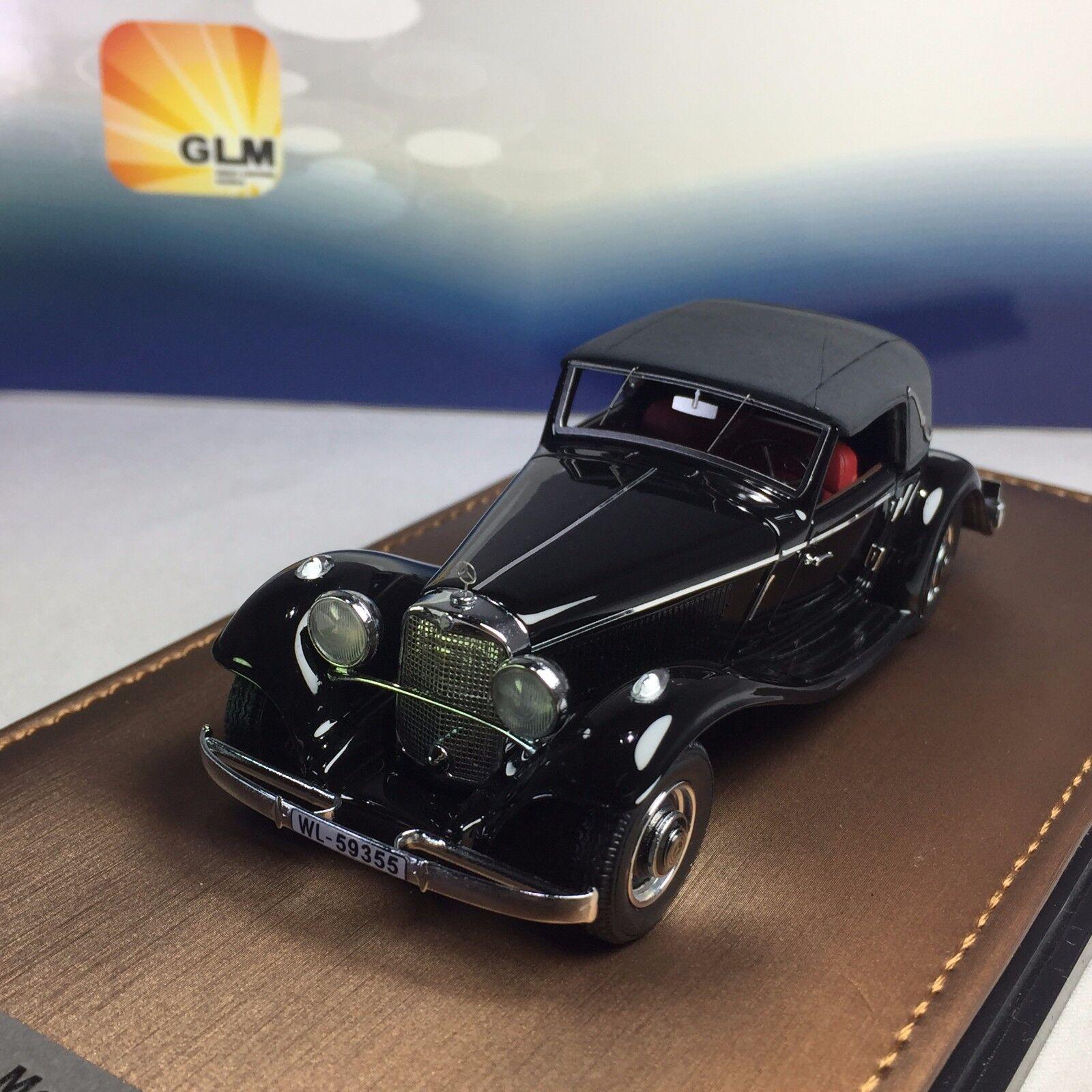 1   43 GLM Mercedes - - - Benz 290a descapotable a W18 1936 cierre GLM 207302 49f