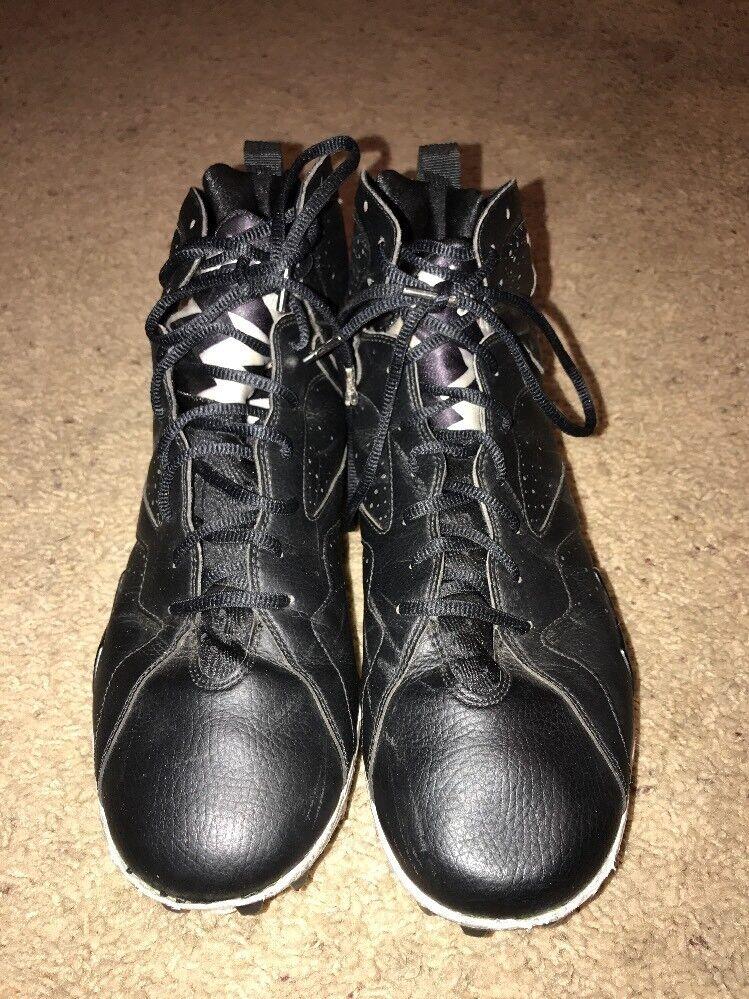 Nike Air Michael Jordan Retro 7 VII Black Baseball Cleats Mens 14 Cheap women's shoes women's shoes