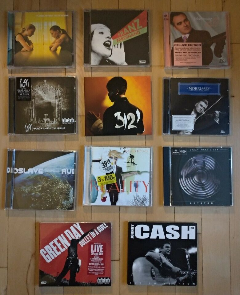 Placebo, Franz Ferdinand, Johnny Cash m.fl.: Diverse