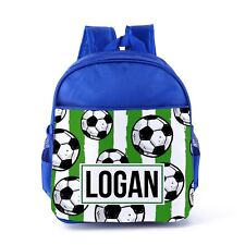 727fbba4d8 item 4 Personalised Football Backpack Boys Blue Kids Back To School Bag  Sports Gift 20 -Personalised Football Backpack Boys Blue Kids Back To  School Bag ...