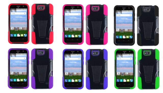 huge discount 220e9 c8535 Hybrid Case Cover for ZTE Majesty PRO LTE Z798BL Z799VL Majesty Pro Plus  Z899VL
