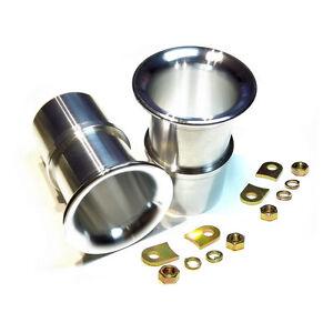 Trumpets-40mm-1-1-2-034-Weber-40-DCOE-slide-in-Velocity-Stacks-2PCS-ALLOY-air-horns