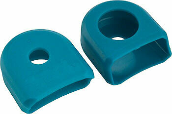 Race Face Small Crank Boots 2-Pack Turquoise