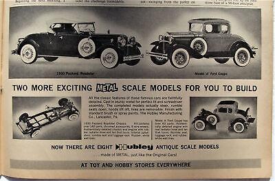 Hubley Metal Display Antique Car