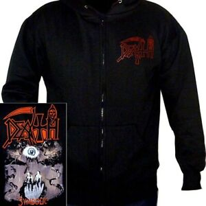Death-Symbolic-Hoodie-M-L-XL-XXL-Official-Metal-Hooded-Sweatshirt-Black-Hoody
