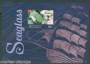 MICRONESIA-2014-SEAGLASS-SOUVENIR-SHEET-II-MINT-NH