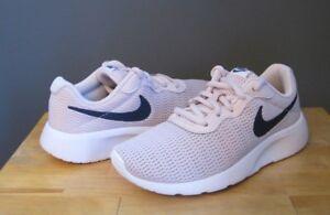 0796a6253d Nike Little Kid Girl Barely Rose Navy White Tanjun PS Sneaker US 1 ...