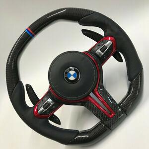 Details About Bmw 2019 Design M Performance F Series Carbon Fiber Steering Wheel