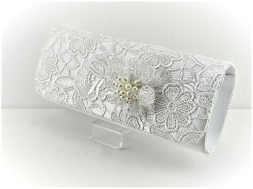 Ivoire Dentelle vintage clutch bag Perfect Bridal Co
