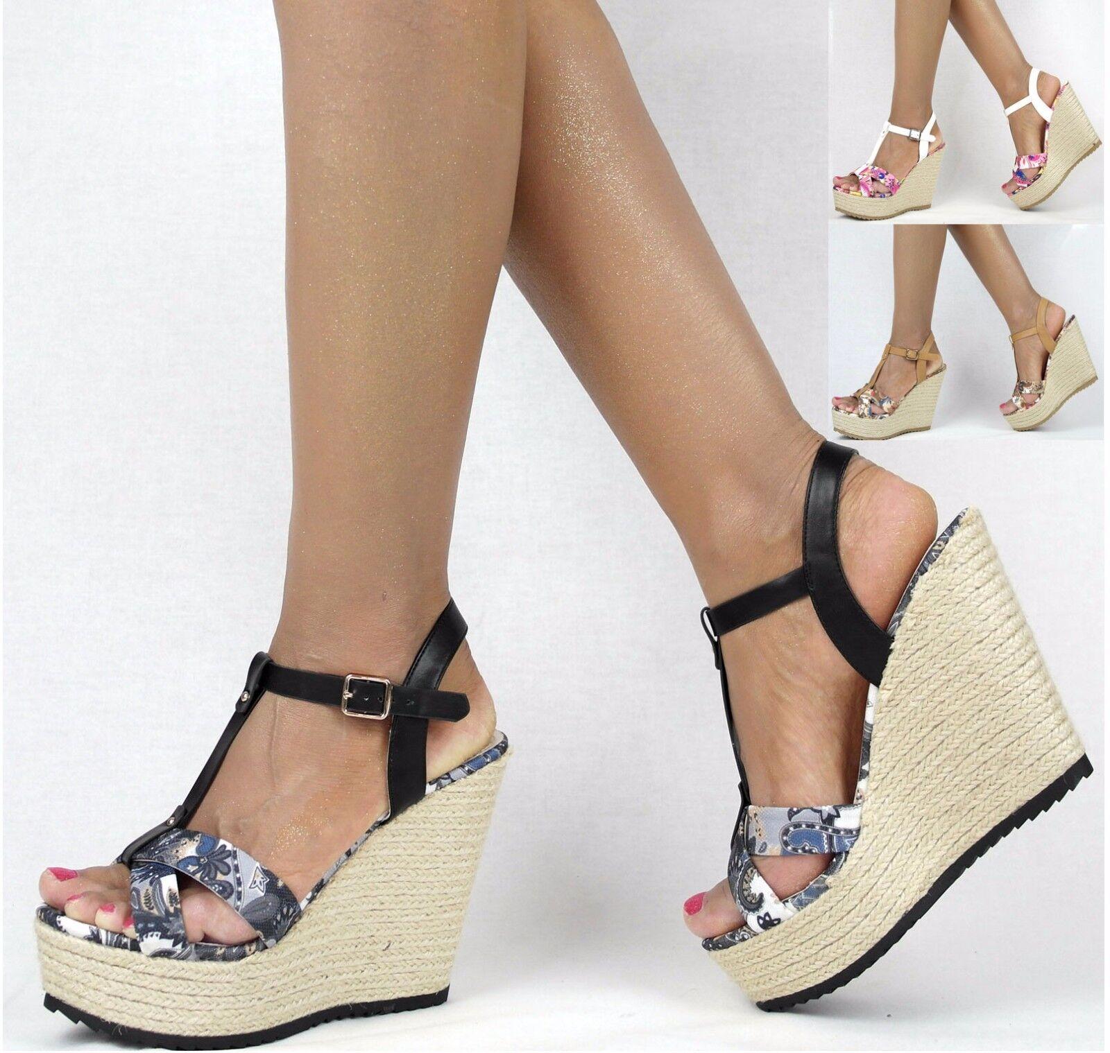 Damenzapatos 36-41 Pumps Party Wedge- Keilabsatz Damen zapatos Party Pumps High Heels Plateau b83ea0