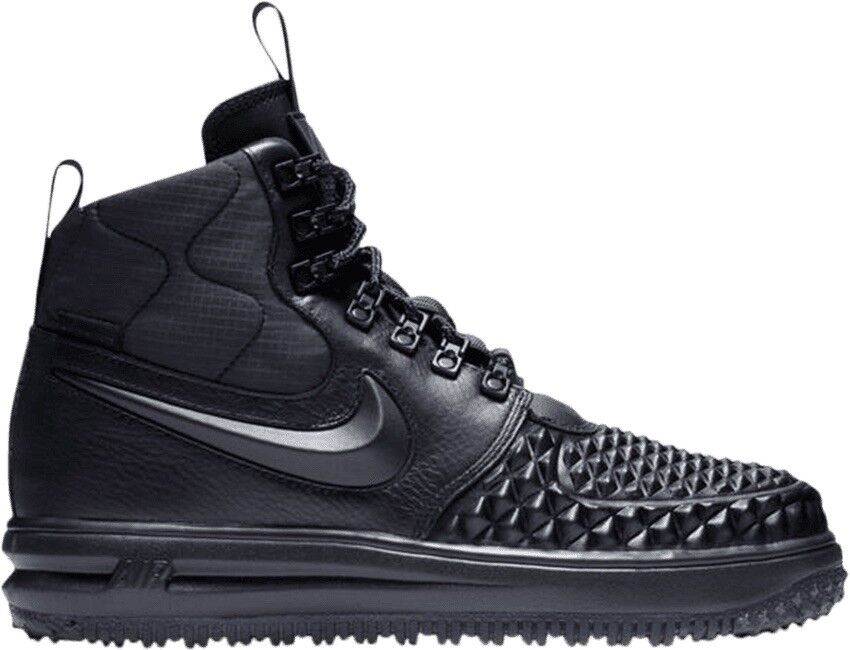 Nike Nike Nike Women's LF1 Lunar Force 1 Size 8 Duck Boot Triple Black AA0283-001 a64ceb