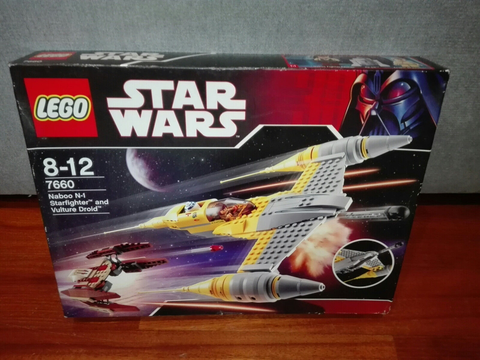 LEGO Star Wars Naboo N-1 Starfighter with Vulture Droid (7660)NEWSEALED