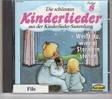 (GK769) Die Schönsten Kinderlieder, Folge 8 - CD
