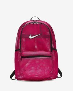 tan baratas variedades anchas ventas al por mayor Nike Brasilia Mesh Training BACKPACK BAG Rucksack Gym Travel School Sports  | eBay
