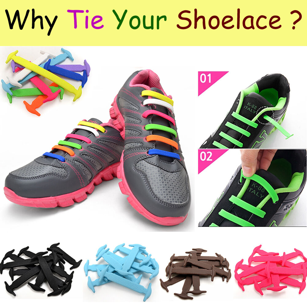 Silicone Shoe Laces Uk