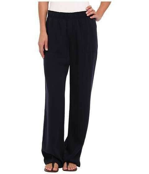 Karen Kane L46096 Navy Cargo Relaxed Leg Pull-on Twill Pants, XS -  108