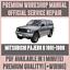 Guia-de-reparacion-taller-Manual-de-servicio-y-para-Mitsubishi-Pajero-II-1991-1999 miniatura 1