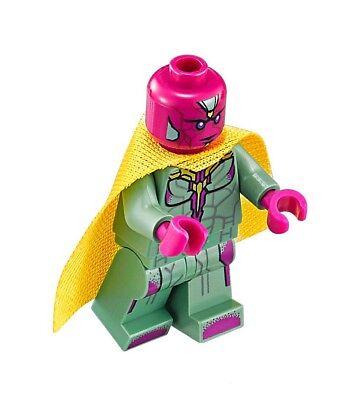 LEGO Infinity War Vision Minifigure 76103 Mini Fig Avengers